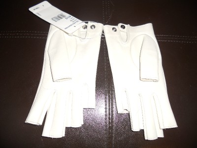 CHANEL 12A Runway Fingerless Lambskin Leather Indian Henna ...