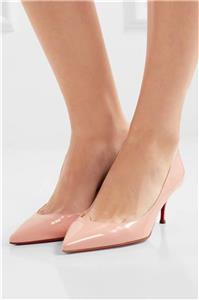 70a377ef470b Christian Louboutin PIGALLE FOLLIES 55 Patent Kitten Heels Pumps Shoes  675