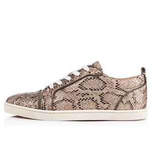 c223f38ab79 Christian Louboutin GONDOLIERE ORLATO Glitter Snake Low Top Sneakers Shoes   845