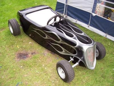 Mini Hot Rod Go Kart Fibregl Body Amp