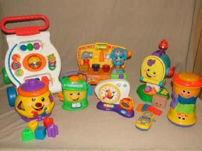 Awesome 8 Fisher Price Laugh Learn Fun Toys Lot Cookie Jar Mailbox Inzonedesignstudio Interior Chair Design Inzonedesignstudiocom