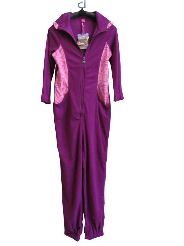 Nwt J36b Kids Girls Onesies Hooded One Piece Pajamas