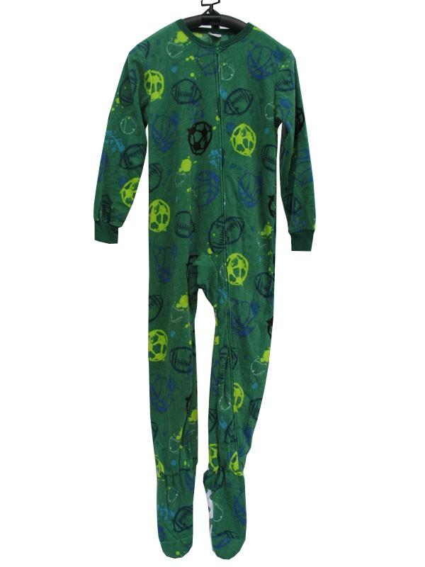 ac7170901 J49 Kids Boys One Piece Sleepsuit Footed Pajamas Pyjamas Size 2 3 4 ...
