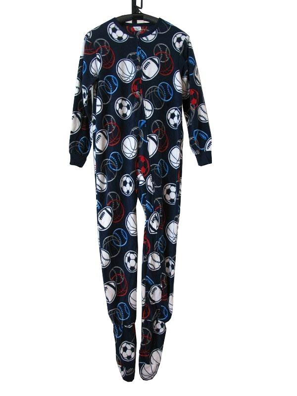 e69518a46 J49 Kids Boys One Piece Sleepsuit Footed Pajamas Pyjamas Size 2 3 4 ...