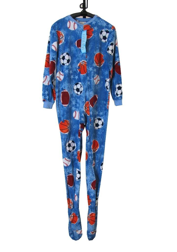 cb20f4bc8 J54 Kids Boys One Piece Sleepsuit Footed Pajamas Pyjamas Size 4 5 6 ...