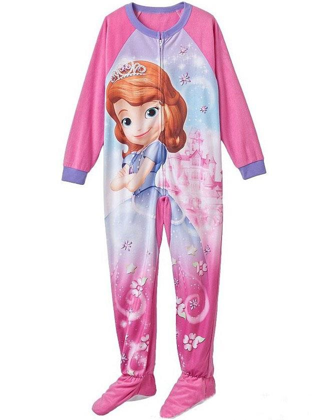 d02070904 J24 Girls Sz 3 4 5 6 Lalaloopsy Onepiece Blanket Sleepsuit Pajamas ...