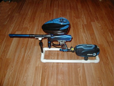 Paintball Gun Marker Stand Fits Dye Ego Ion Proto Bob Long Fully Adjustable Ebay