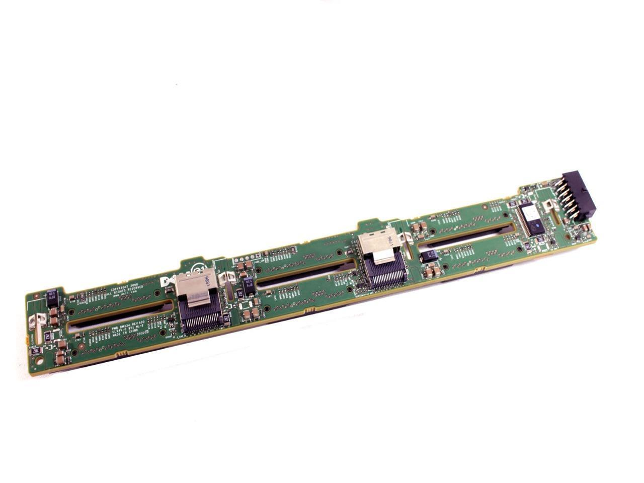 DELL POWEREDGE R610 SERVER SAS X6 BACKPLANE BOARD KM779 D109N MX840 W903M