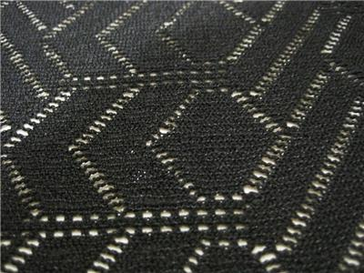 2 Meter Black 4 Way Stretch Lace Fabric Vintage Sewing
