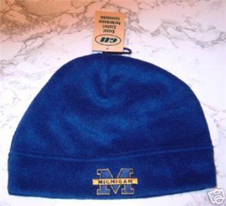 Michigan Wolverines Blue Arctic Fleece Skull Cap NWT - Sports ... c69820031c8