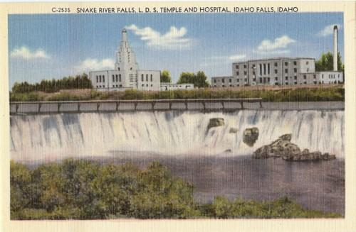Free Stuff Temple Texas >> PC Snake River Falls, LDS Temple Hospital, Idaho Falls | eBay