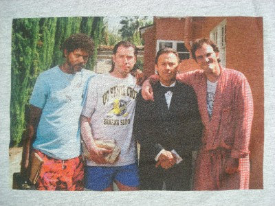 PULP Fiction Quentin Tarantino Travolta Hollywood Sweat Vintage Taille S-XXL