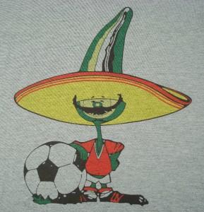 Messico 86 Pique Mondiali di calcio anni/'80 Retrò Felpa small-xxl Soccer Ciao