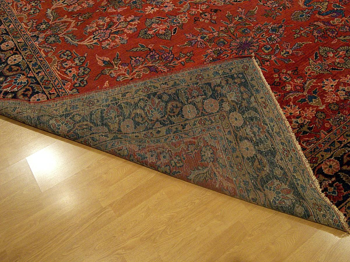 9 X 12 Genuine Hand Knotted Antique 100 Years Old Persian