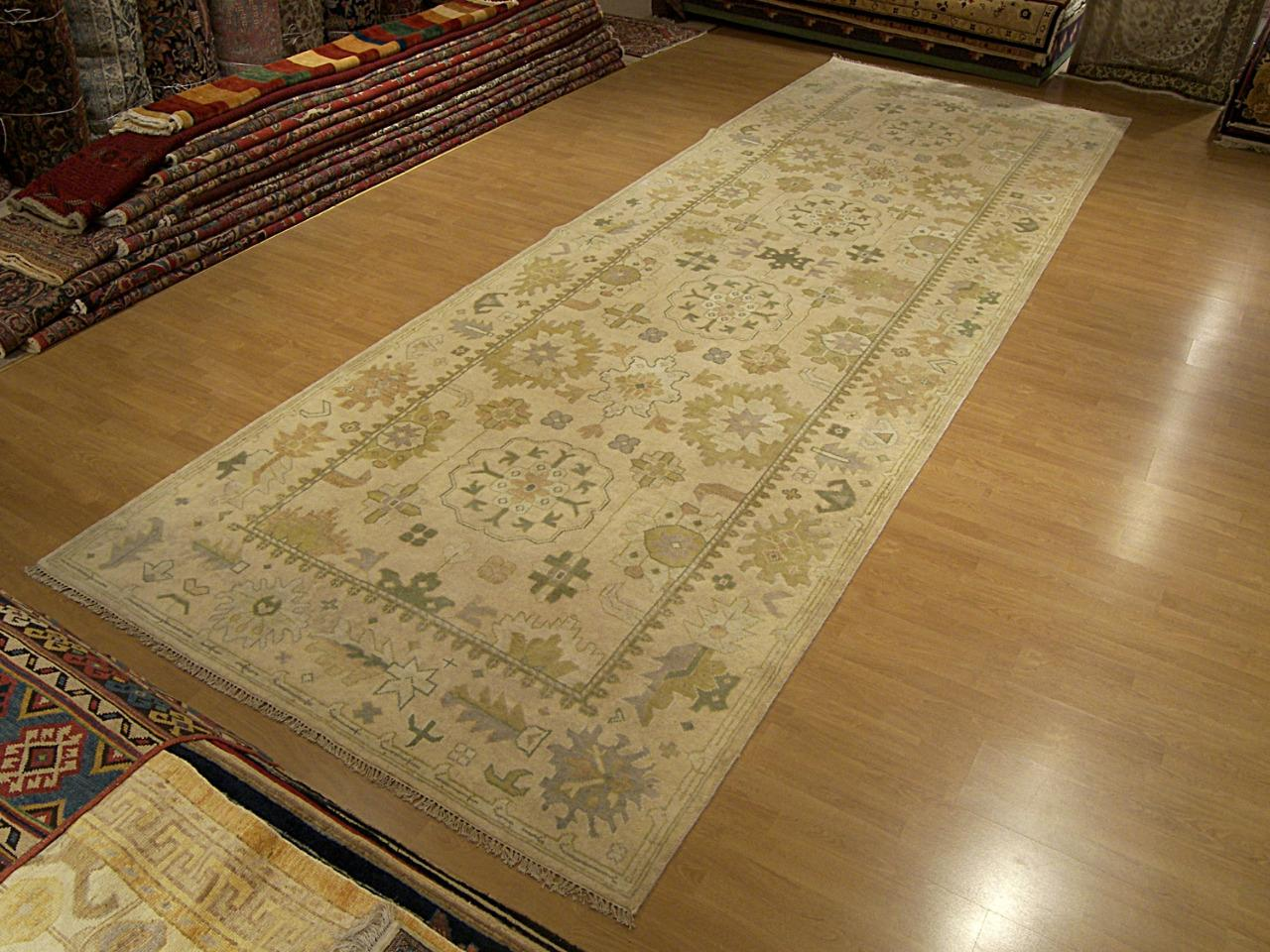 5 9 X 18 Handmade Hand Knotted Oushak Runner Vegetable
