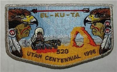 El Ku Ta Lodge 520 General Release Flap Mint Condition FREE SHIPPING