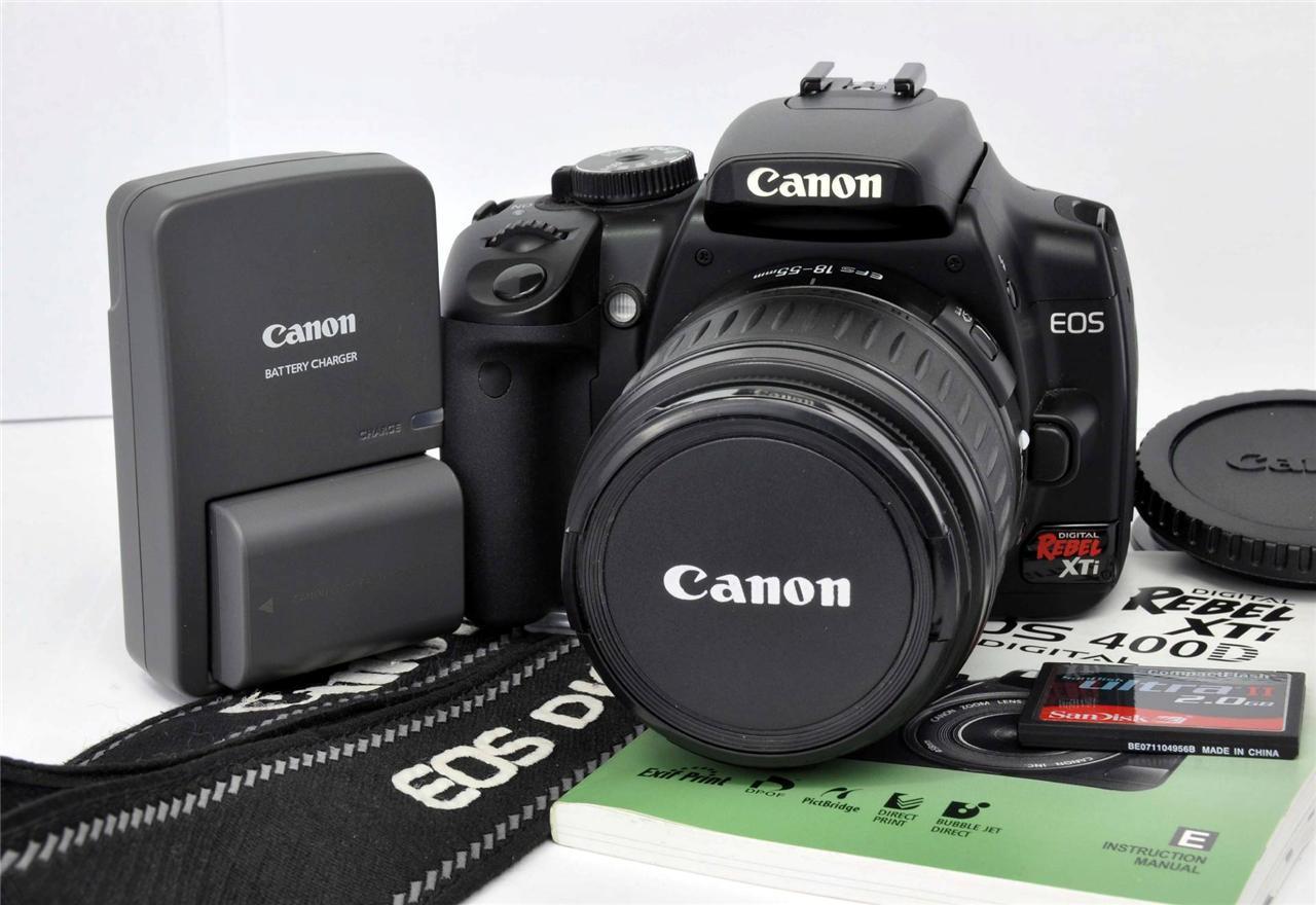 Download Canon Digital Rebel Xti Manual