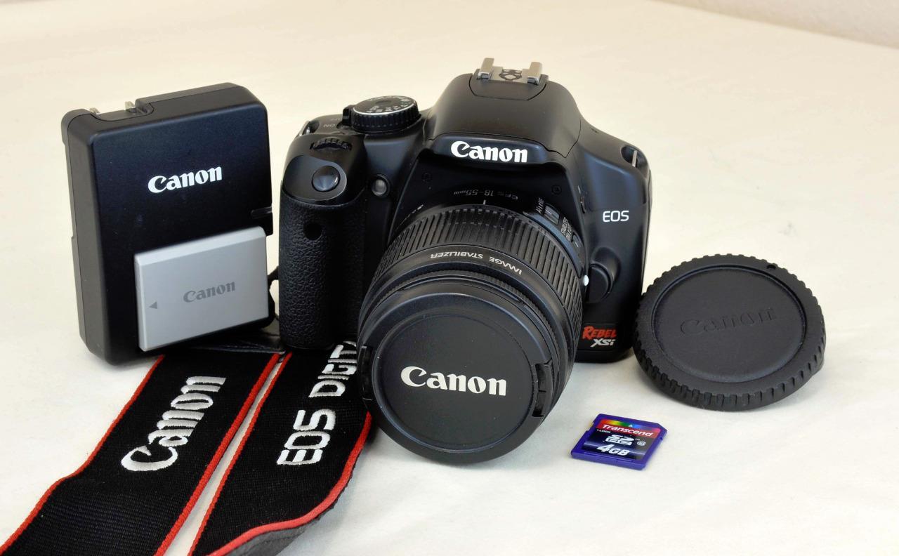 Canon eos Digital rebel Xsi instruction Manual