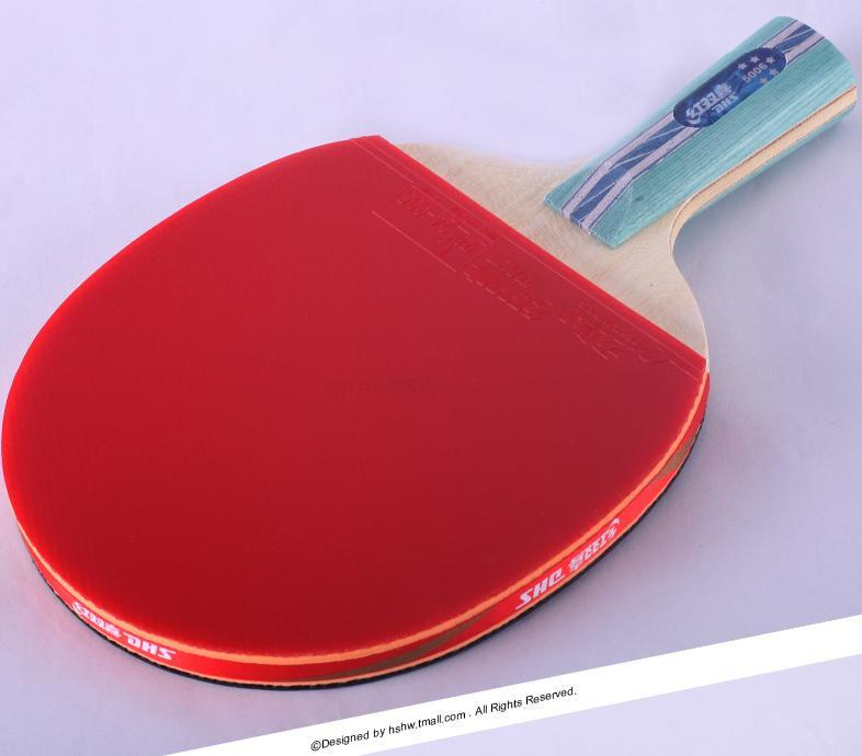Dhs 5 Star Table Tennis Ping Pong Racket 5002 Shake Hand