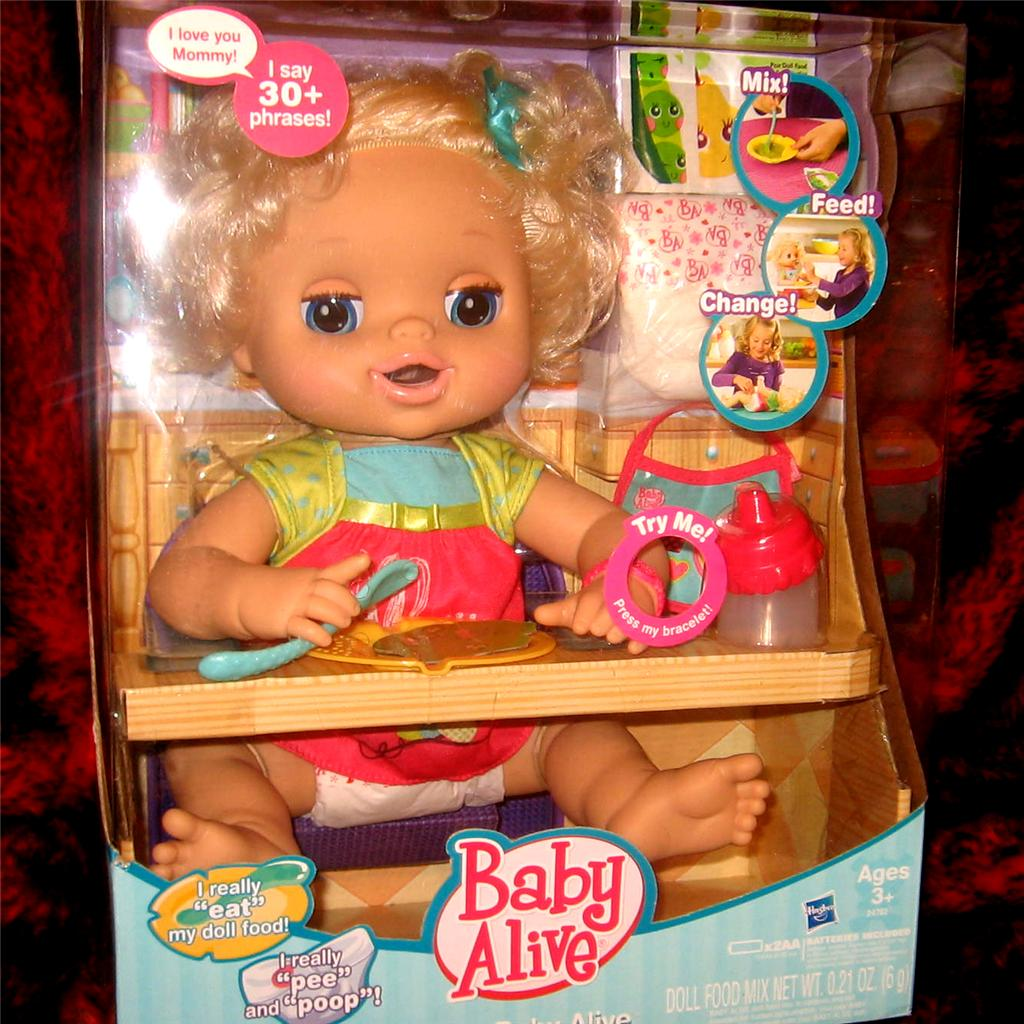 New Baby Alive Whoopsie Doo Diapers Juice Cries Pees Poops