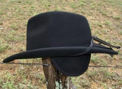 NEW Scala EVEREST CRUSHABLE Wool RAIN PROOF Outback EAR FLAPS Cowboy ... 1b7c15090c9