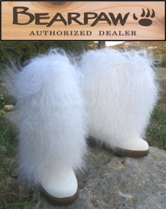 Nib Bearpaw Boetis Ii Exotic Lamb Fur Winter Sheepskin