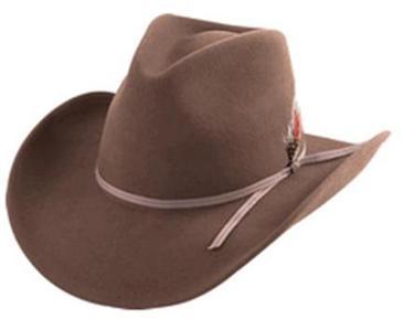 Henschel U SHAPE IT Western Cowboy Felt Hat NEW Classic ...