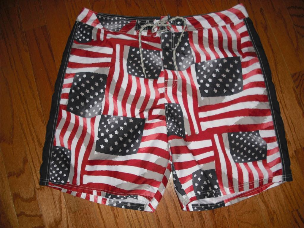 69b2cc239d I bet you can't find American Flag swim trunks on the internet - Off ...