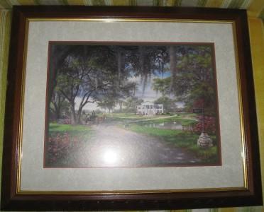 Home Interior Framed Scene Print By R C Carter Ebay