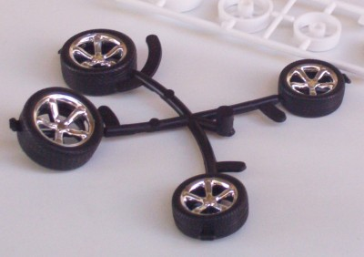 Big Little Hot Rod Tires Wheels Revell 1 25 Model Parts