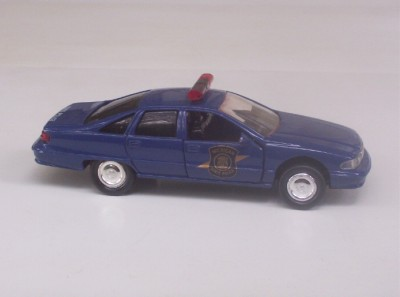 Michigan State Police Chevy Caprice Road Champs 1 43 Car Toy Loose