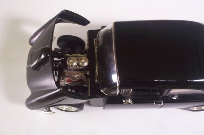 1955 Chevy American Graffiti Movie Ertl 1 18 American Muscle Le Black Car
