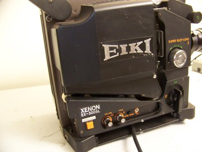 16mm projector on Shoppinder