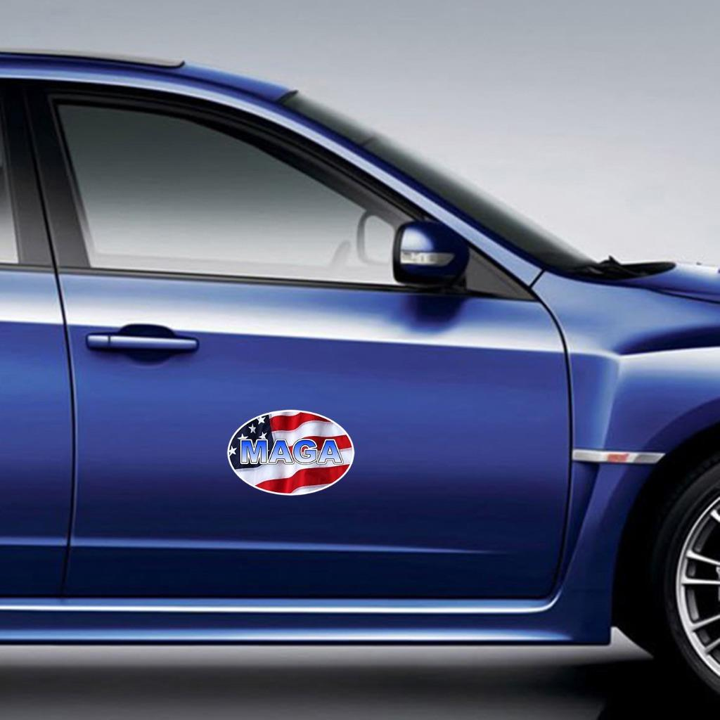 reusable vinyl decal sticker for car ~ truck DONALD TRUMP KISS FACE removable