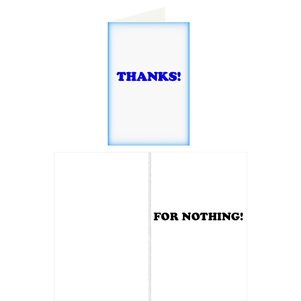 Re Cards Thank You Greeting Card Funny Adult Humor Dirty