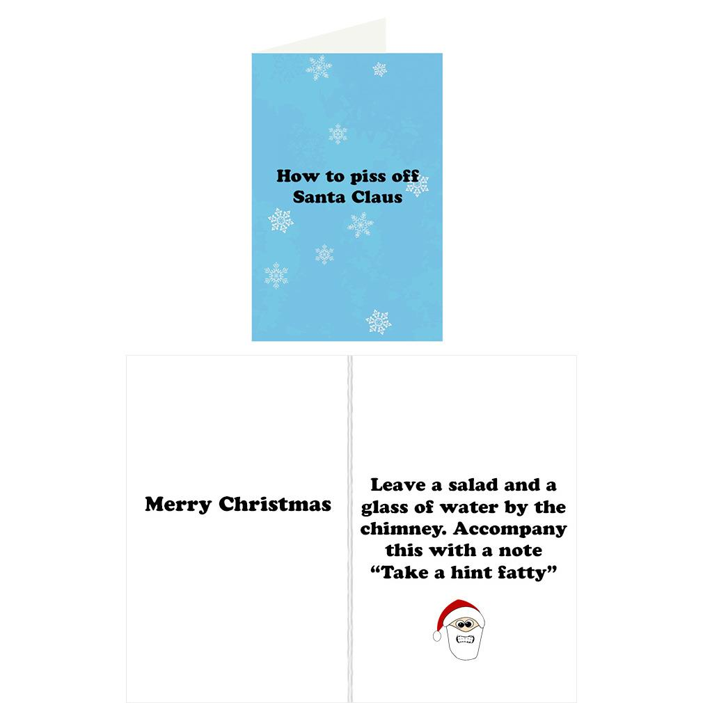 Re Cards Christmas Greeting Card Funny Adult Humor Dirty