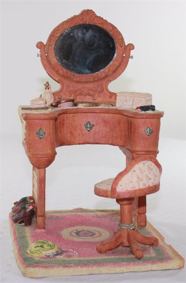 Decorative Dressing Table ~ Decorative molded resin ladies dressing table chair home