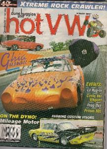 Dune Buggies Amp Hot Vws March 2007 Volkswagen Magazine