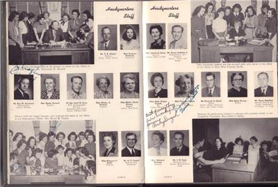 Rare 1950 Thomas Jefferson High School Yearbook Annual San
