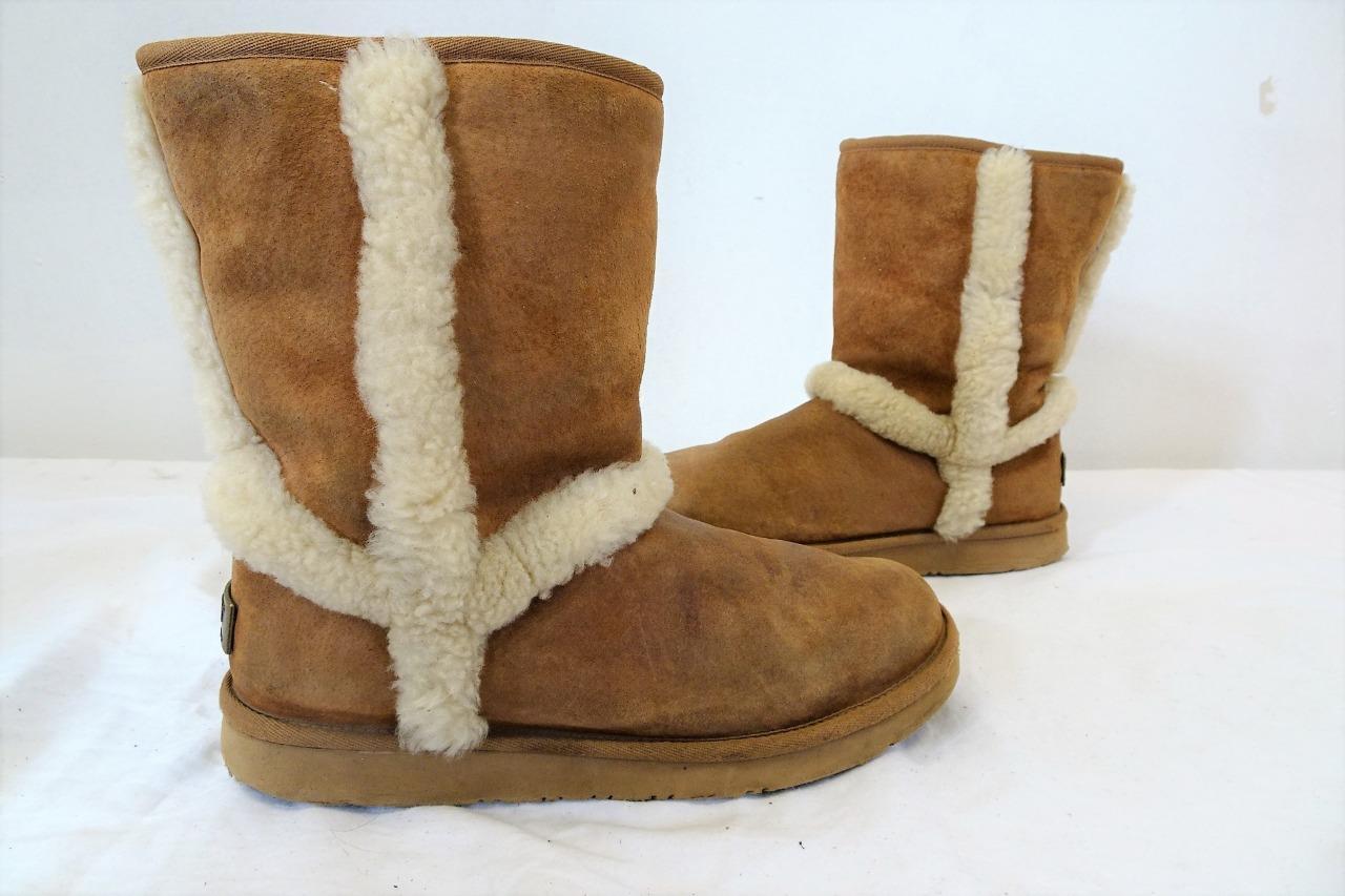Ugg Australia Brown Winter Boots Size 5.5 | eBay