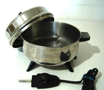Farberware Pot Pourri Electric Skillet Fry Pan Immersible
