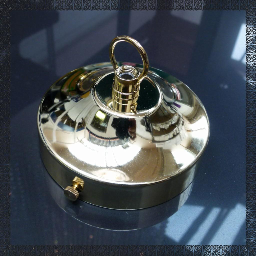 Chandelier Large Chrome Antique Brass Light Lamp Cap Rose