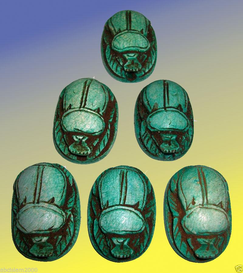 use it to make your own Jewelry Mixed LOTx 12 Egyptian Pharaonic Scarab pendant
