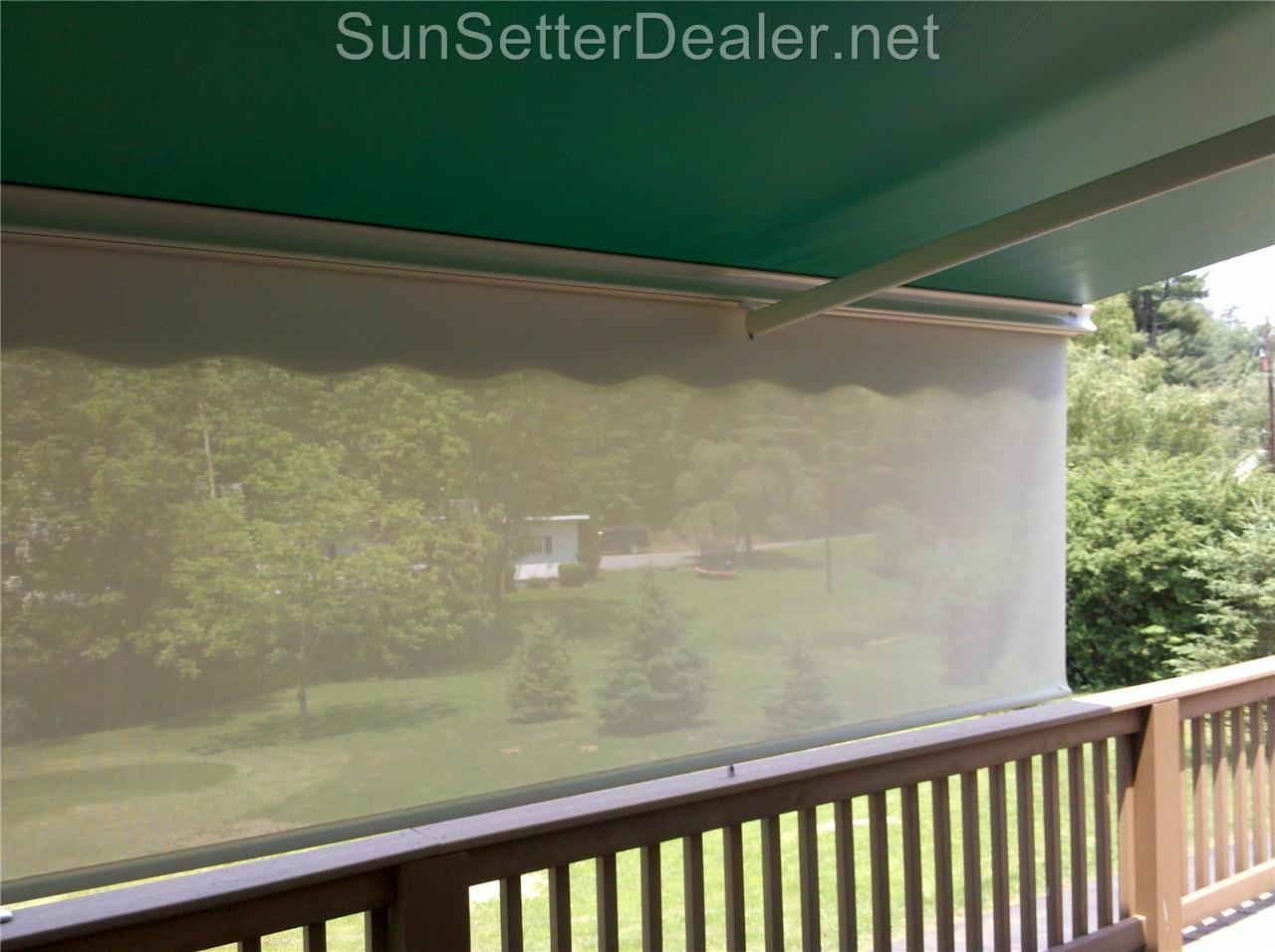 20 ft. SunSetter Motorized Pro Retractable Patio Awning ...