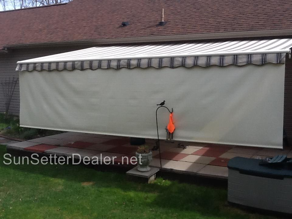 20 Ft Sunsetter Motorized Pro Retractable Patio Awning