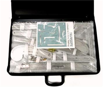 Fairgate 15 200 Fashion Designers Metric Carryall Ruler Kit