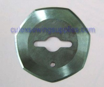 """2/"""" Heptagonal Replacement Blade For Handheld Electric Rotary Cutters"""