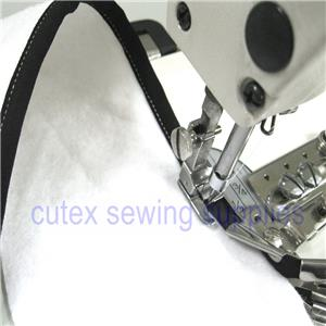 Binding Attachment Folder 1-1//2 Cutex Sewing Industrial Sewing Machine Double Fold Binder