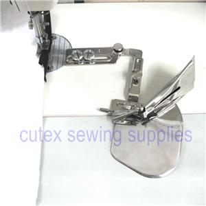 Sew link Sewing Machine Single Fold Tape Binder Binding Attachment with Swing Bracket Size 7//8 inches