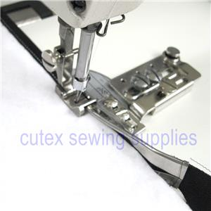Sew link Sewing Machine Double Fold Binder Binding Attachment with Swing Away Bracket Size 1-3//4 inches